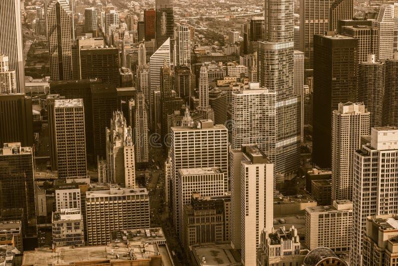 Vendimia Chicago fotografía de archivo