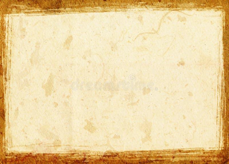 Vendimia de papel de Grunge imagen de archivo