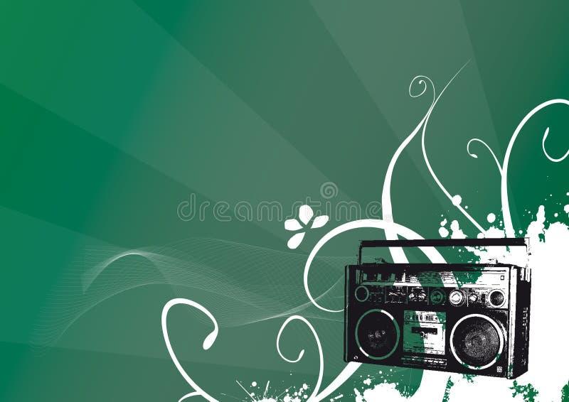 Vendimia de radio imagen de archivo