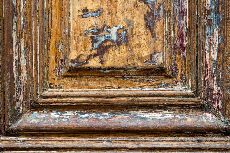 Vendimia manchada de madera imagen de archivo