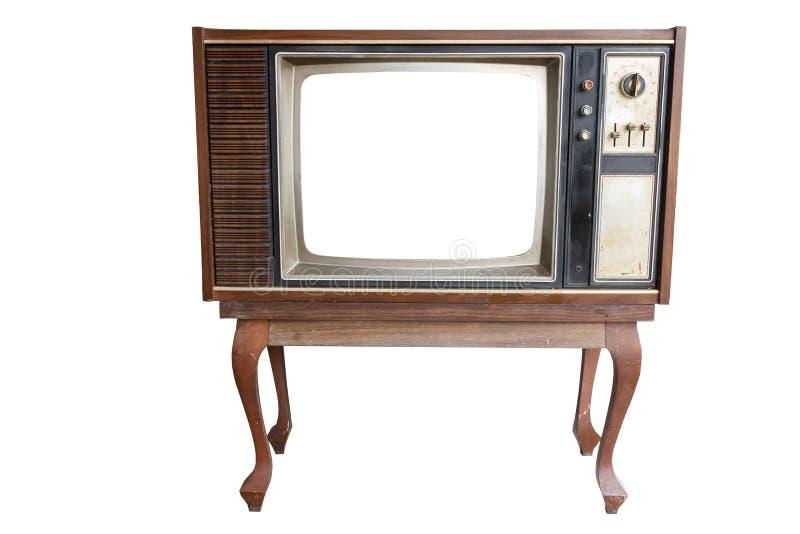 Vendimia vieja TV fotos de archivo libres de regalías