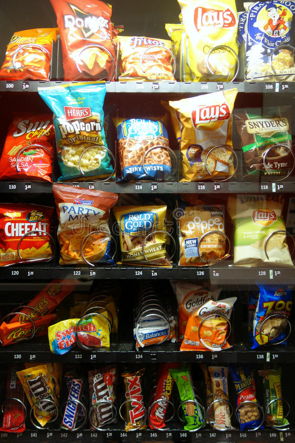 Vending Machine royalty free stock photo