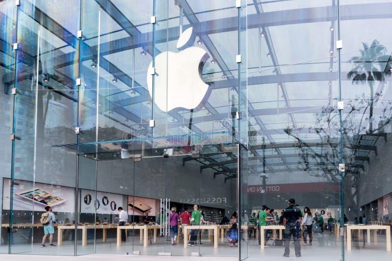Vendita al dettaglio di Apple immagine stock libera da diritti