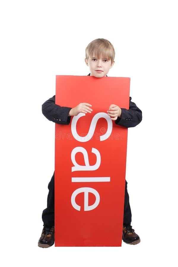 Vendita dei bambini fotografie stock