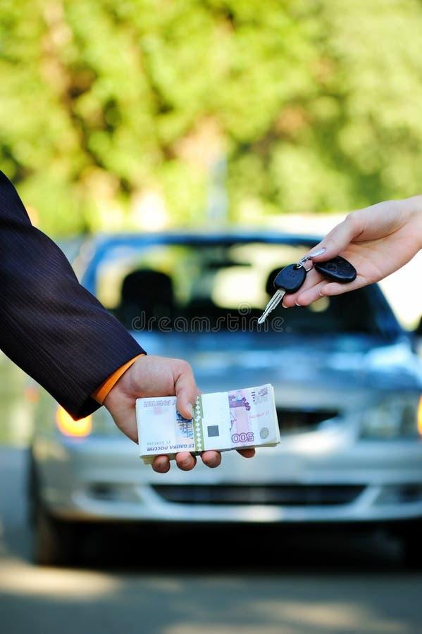 Vendita dell'automobile immagine stock libera da diritti