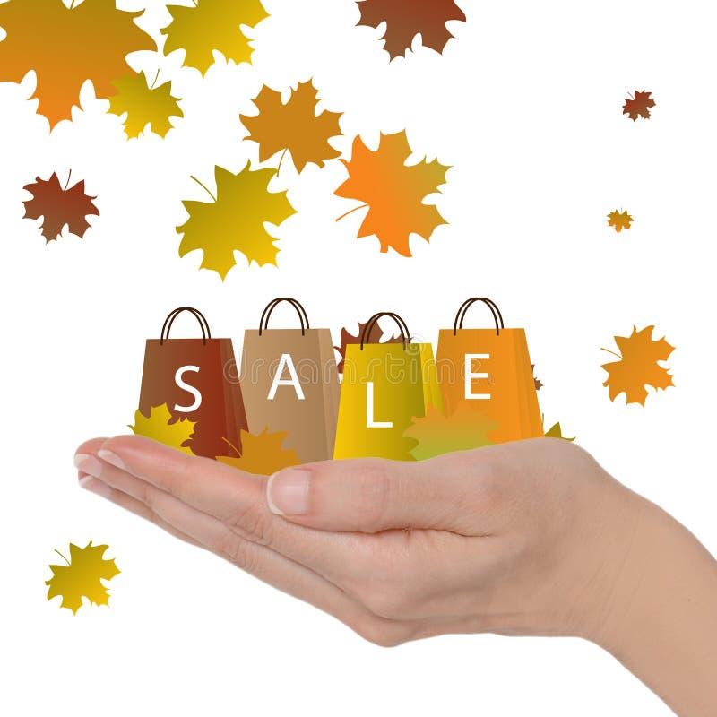 Vendita di autunno immagine stock libera da diritti