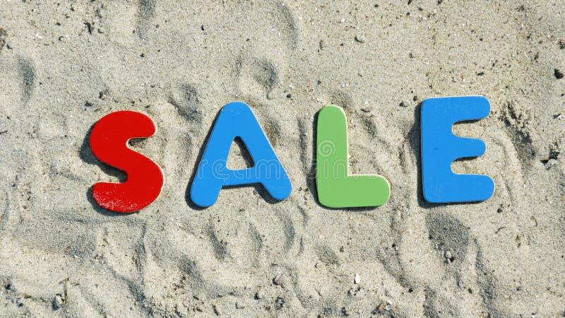 Vendita di estate fotografia stock libera da diritti