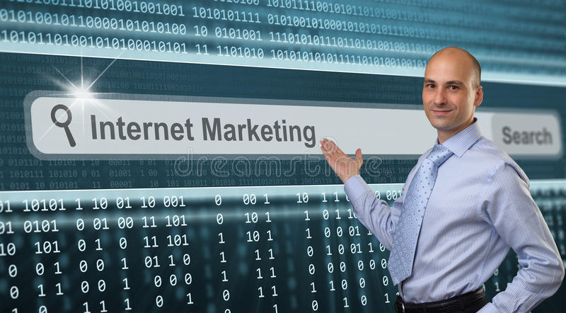 Vendita di Internet immagini stock libere da diritti