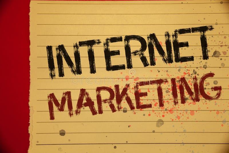 Vendita di Internet del testo della scrittura Concetto che significa colore online di giallo di Entrepreneurship Mellow dell'impr fotografia stock