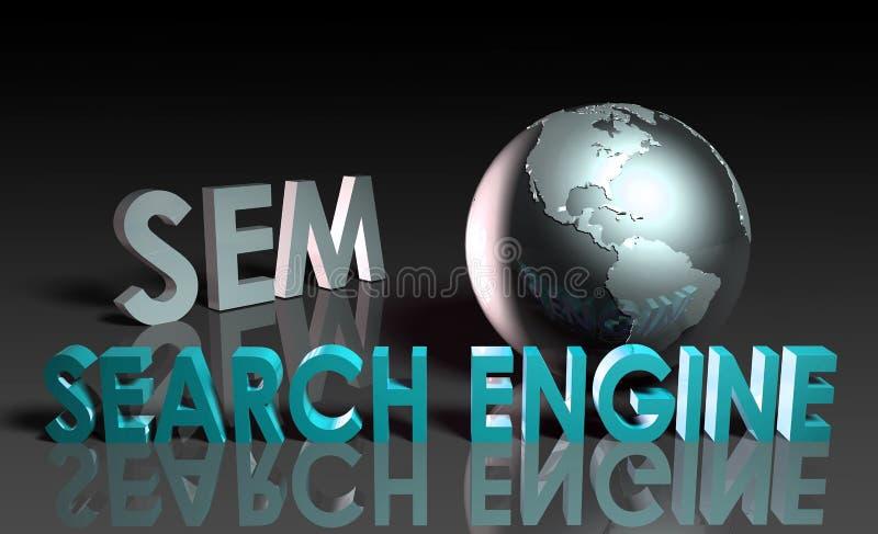 Vendita di Search Engine royalty illustrazione gratis