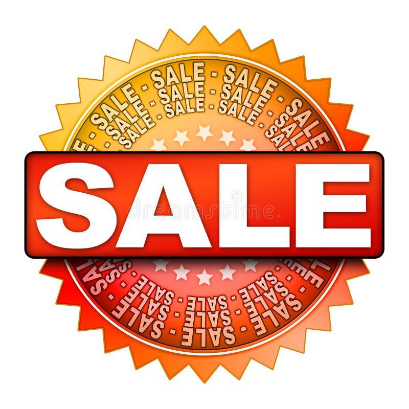 Vendita di vendita di vendita illustrazione vettoriale