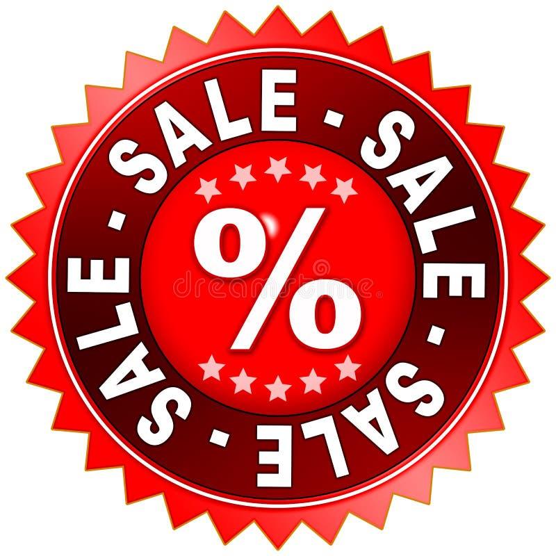 Vendita di vendita di vendita illustrazione di stock