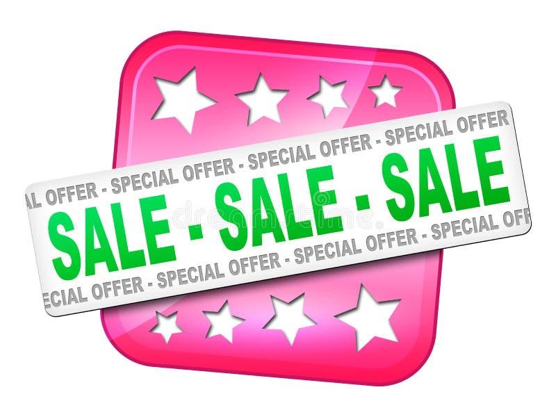 Vendita di vendita di vendita royalty illustrazione gratis