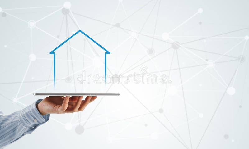Vendite della proprietà e del bene immobile immagini stock