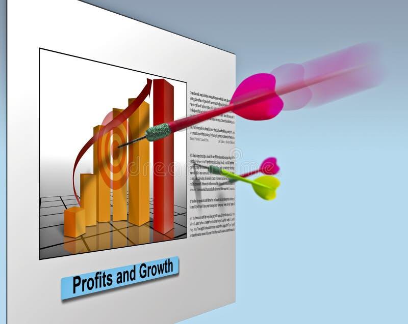 Vendite di affari di vendita illustrazione vettoriale