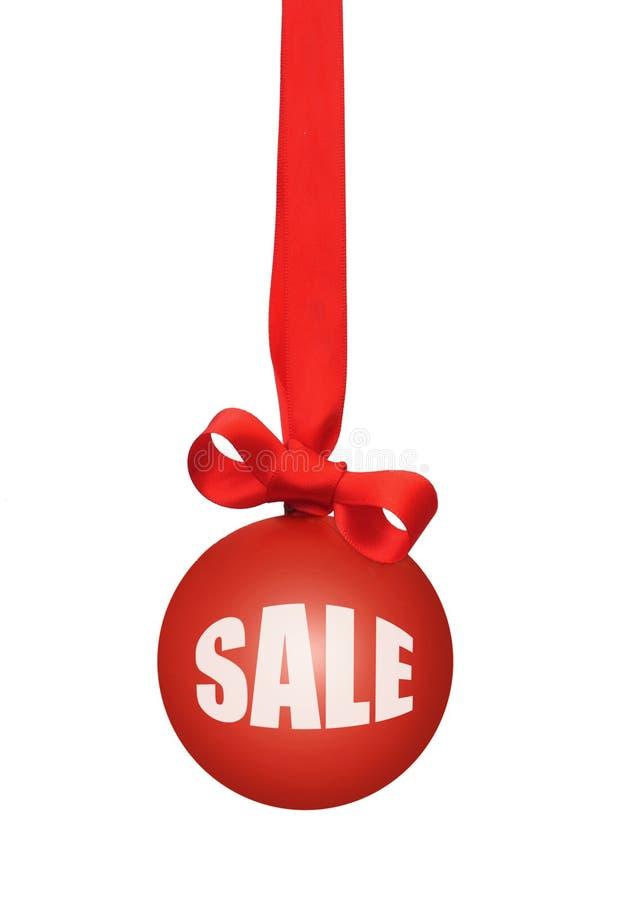 Vendite di Natale immagini stock libere da diritti