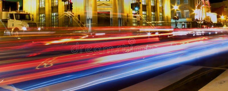 Vendredi Nuit-Georgetown photographie stock libre de droits