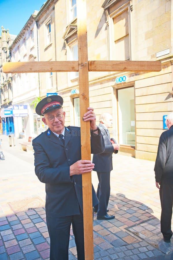 Vendredi Saint à Inverness photos libres de droits