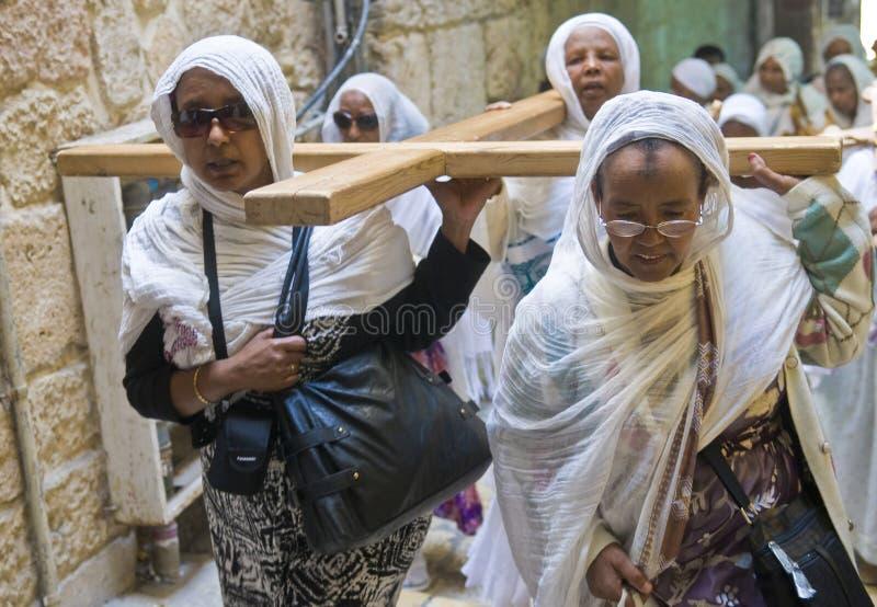 Vendredi Saint éthiopien photo stock