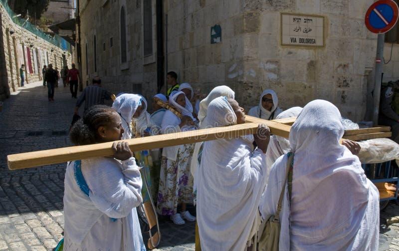 Vendredi Saint éthiopien photos libres de droits