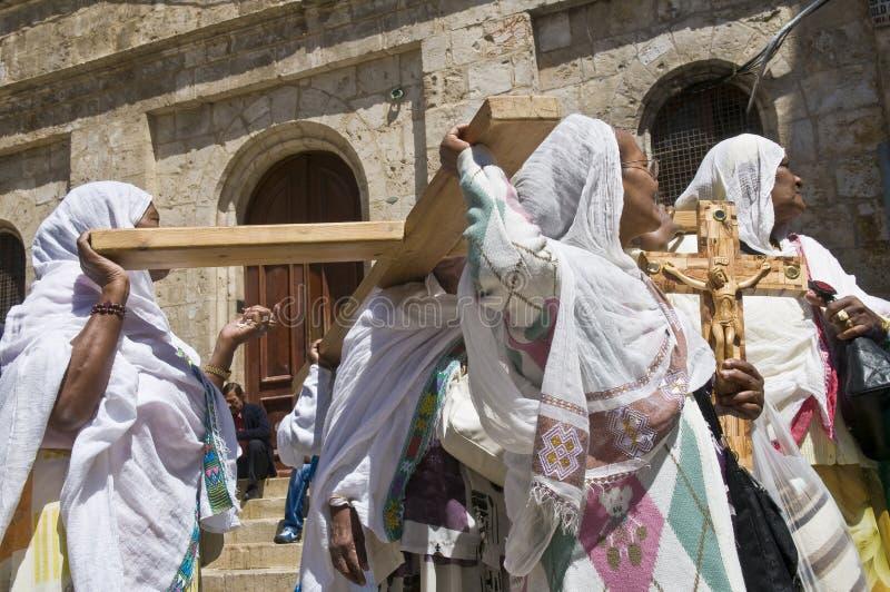 Vendredi Saint éthiopien photographie stock libre de droits