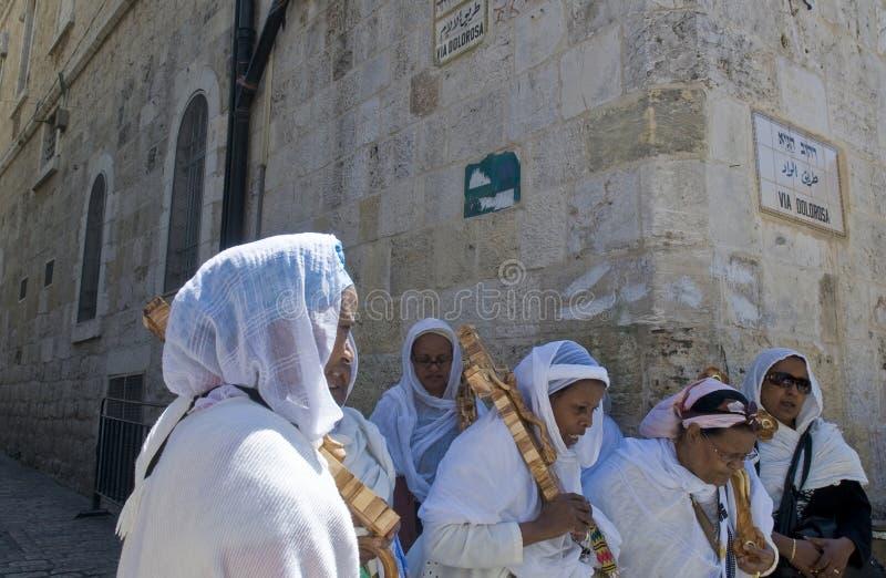 Vendredi Saint éthiopien image stock