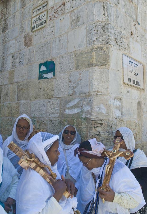 Vendredi Saint éthiopien images stock