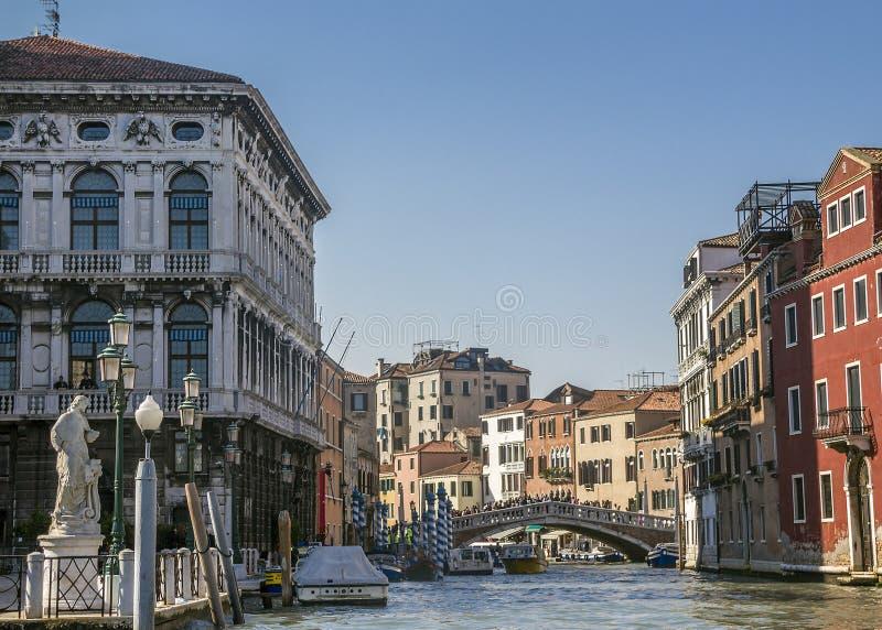 Venecia Distrito Cannaregio fotografía de archivo libre de regalías