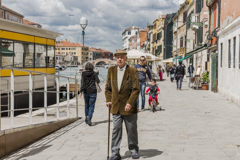 Venecia en Italia fotografía de archivo