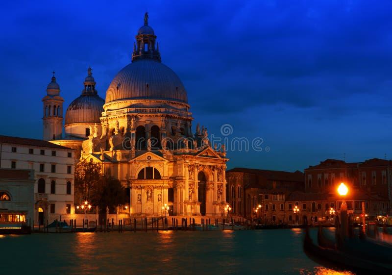 Venecia en la puesta del sol foto de archivo libre de regalías
