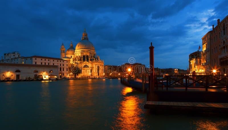 Venecia en la puesta del sol imágenes de archivo libres de regalías