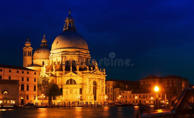 Venecia en la puesta del sol fotos de archivo