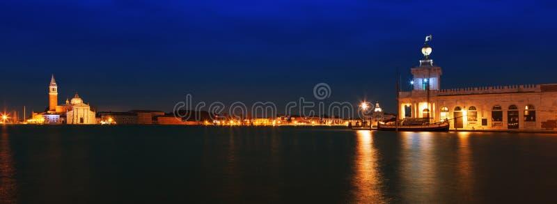 Venecia en la puesta del sol imagen de archivo libre de regalías
