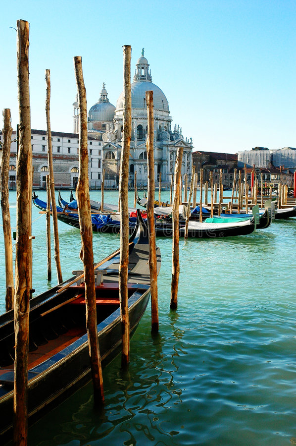 Venecia en un día claro imágenes de archivo libres de regalías