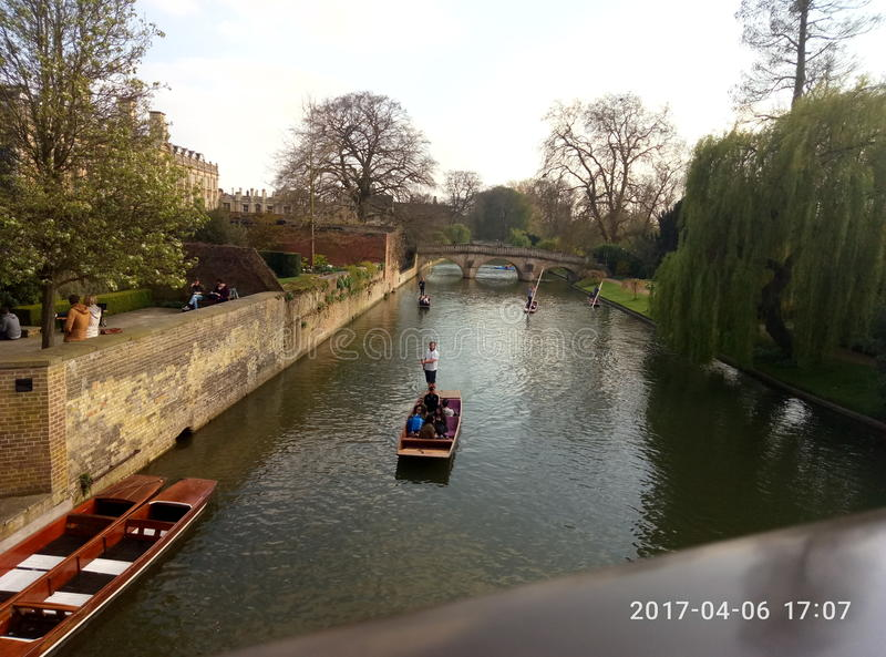 Venecia in England royalty free stock image