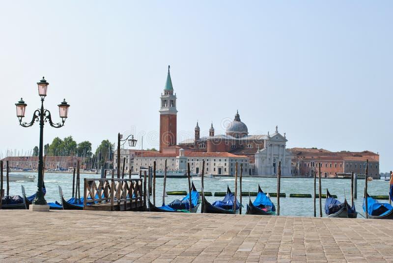 Venecia es ciudad vieja y hermosa fotografía de archivo libre de regalías