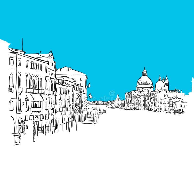 Venecia grande Canale libre illustration