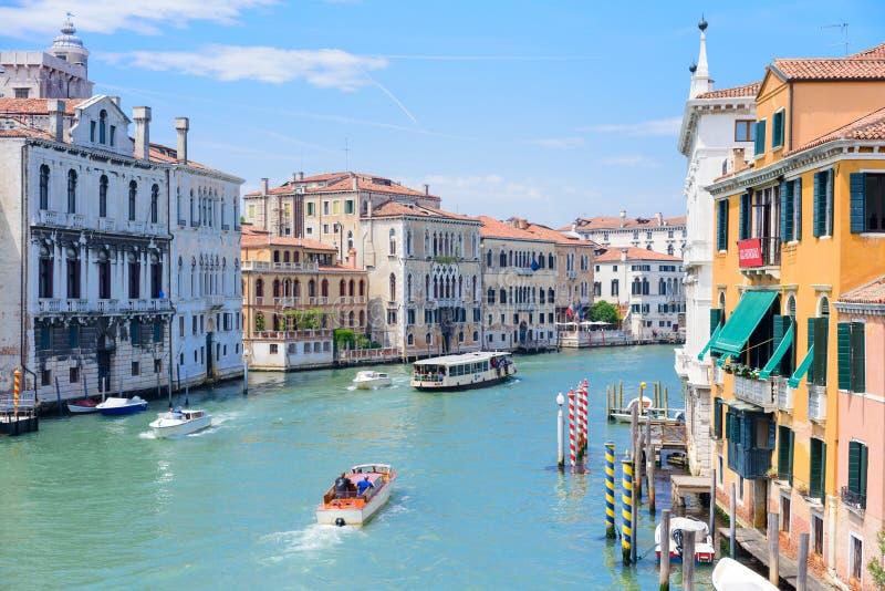 VENECIA, ITALIA - MAYO DE 2017: Opini?n que sorprende sobre la Venecia hermosa, Italia fotos de archivo
