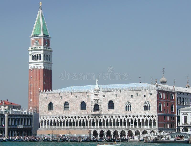 Venecia - Italia - Palacio De Los Duxes Fotos de archivo libres de regalías