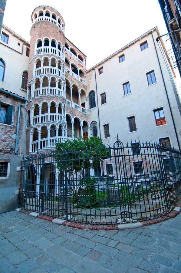 Venecia Italia Scala Contarini del Bovolo fotografía de archivo libre de regalías