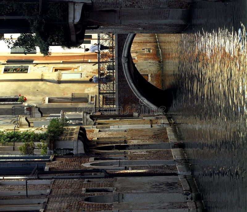 Venecia - serie del canal fotos de archivo libres de regalías