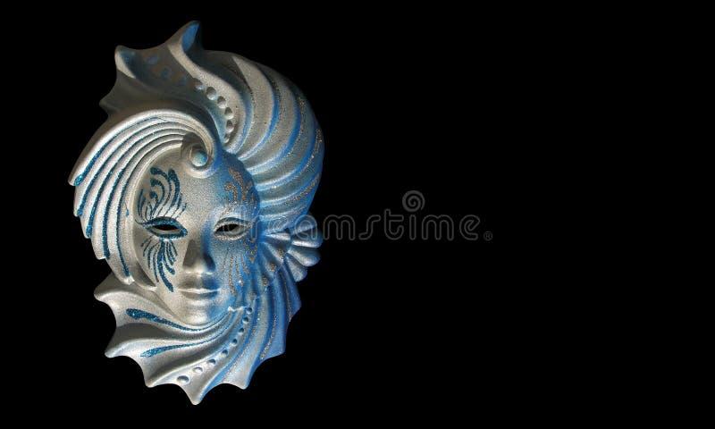 venecian maskering stock illustrationer