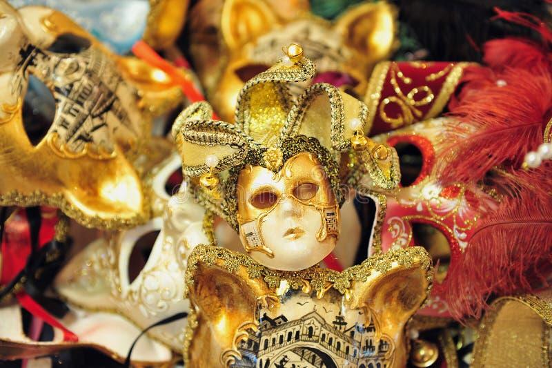 Venecian maskes zdjęcia stock
