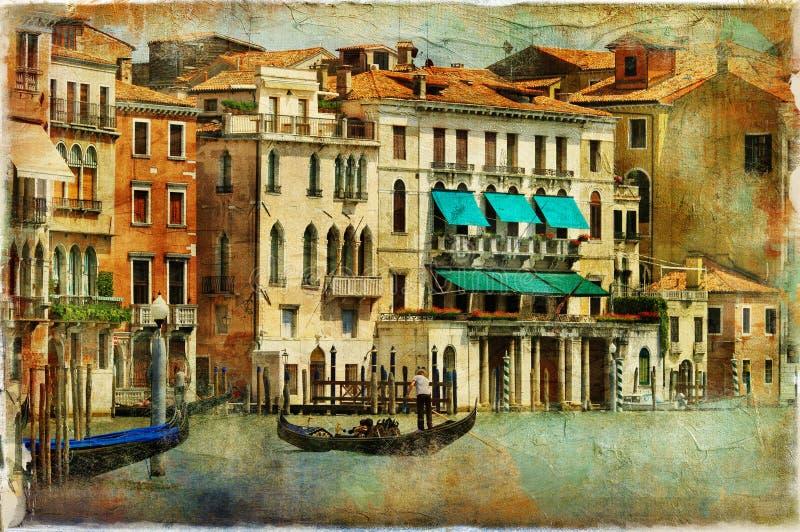 Venedig arkivbild