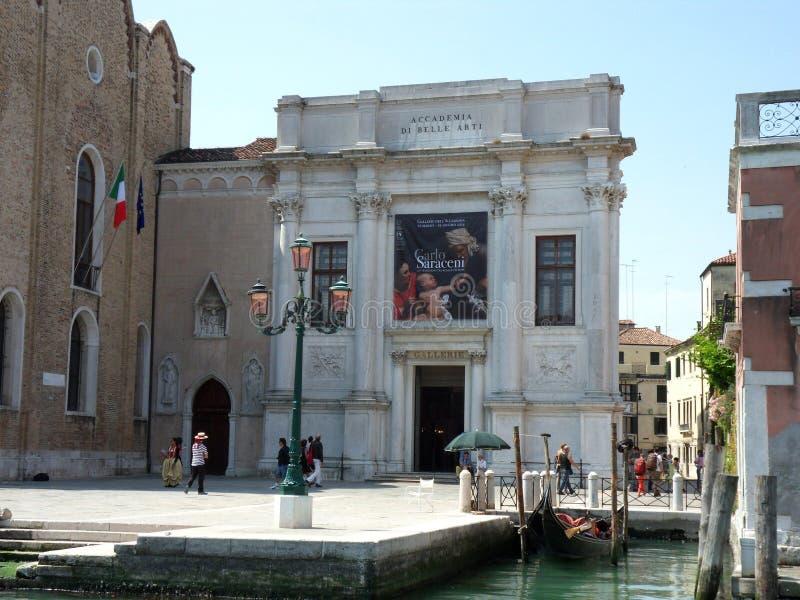 Venedig - akademi av konster royaltyfri fotografi