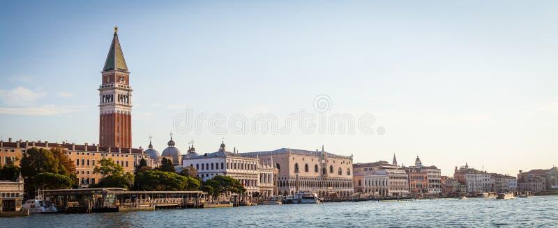 Venedig-Ansicht bei Sonnenaufgang lizenzfreies stockbild