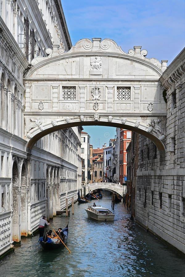 Venedig, Brücke lizenzfreie stockfotos