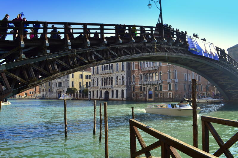 Venedig-Brücke stockfoto
