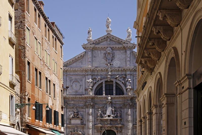Venedig, Church di S. Moise lizenzfreie stockfotos