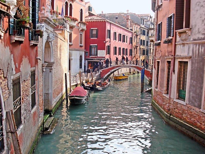 Venedig cityscape royaltyfri fotografi